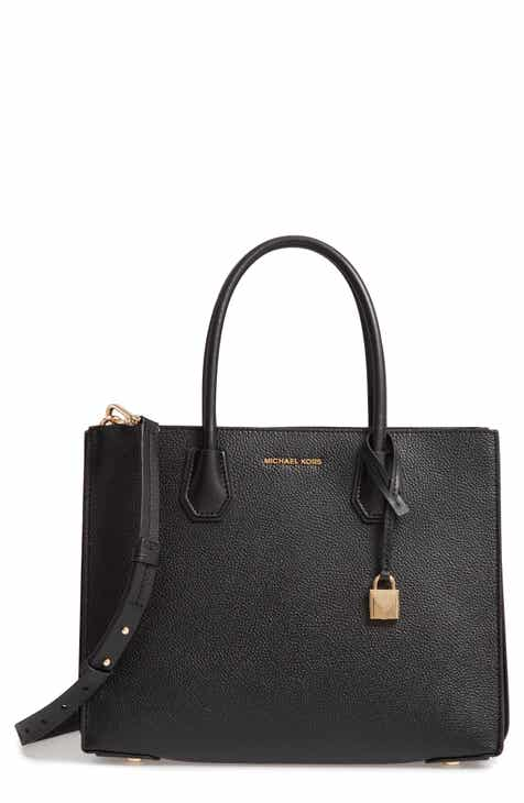 Michael Kors Large Mercer Leather Tote