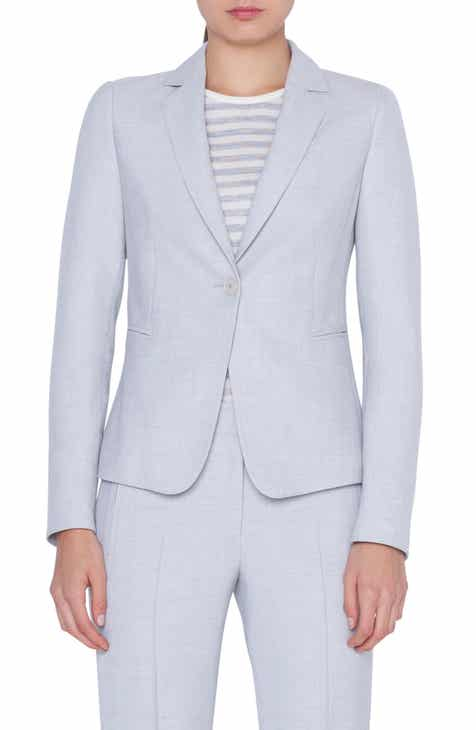 Akris punto One-Button Blazer by AKRIS PUNTO