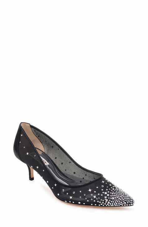 8ffff1f1d85 Badgley Mischka Felicity Crystal Embellished Pump (Women)
