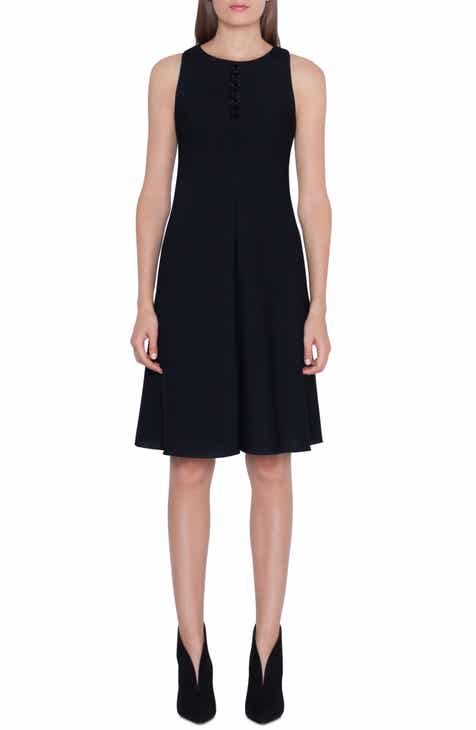 Akris Magic Forms Embellished Crepe Dress by AKRIS