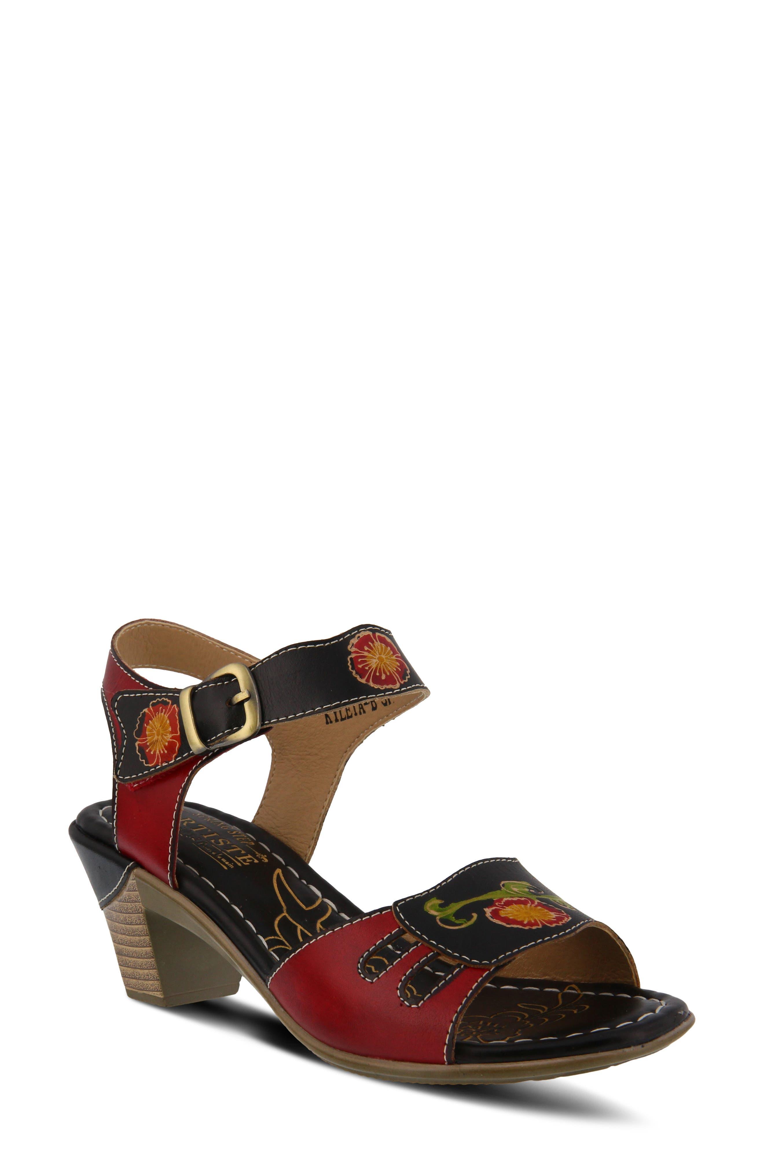 e97122ab6f68 L artiste Ankle Strap Sandals for Women