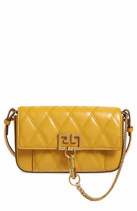 Givenchy Mini Pocket Quilted Convertible Leather Bag 35245c51d3297