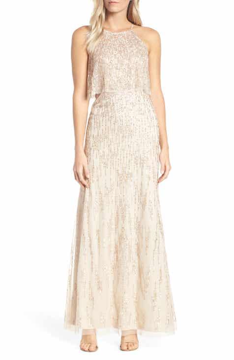 2b066907d98 Adrianna Papell Beaded Evening Dress