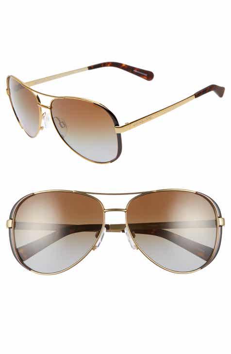 2db0f0a14a Michael Kors Collection 59mm Polarized Aviator Sunglasses