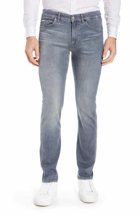 BOSS Delaware Soft Touch Slim Fit Jeans