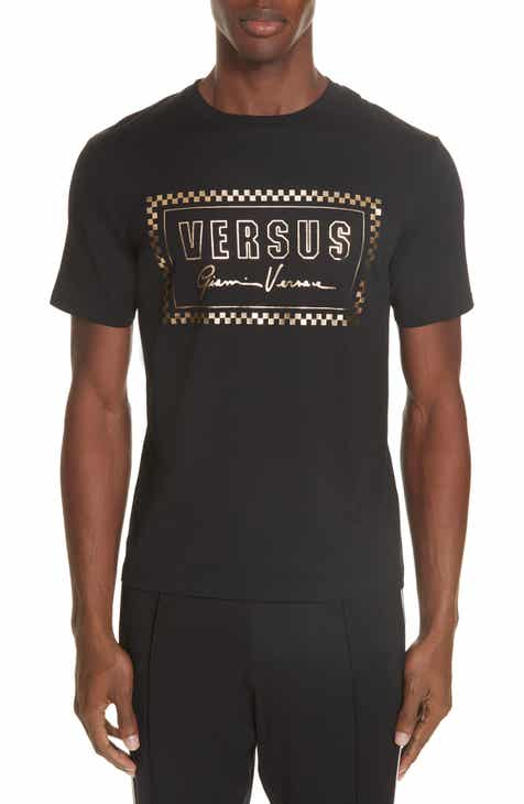 1aadc62d9cb6f VERSUS Versace Gold Logo T-Shirt