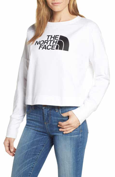 5db54714b0f1d The North Face Train-N Logo Crop Pullover