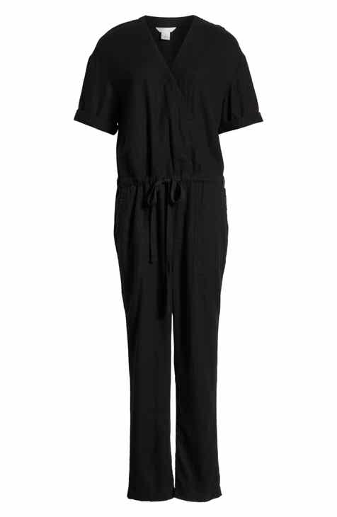 f4db0d1c1a7 Caslon® Faux Wrap Jumpsuit (Regular   Petite)