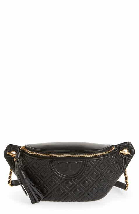 c5d0da39df1d Tory Burch Fleming Quilted Leather Belt Bag