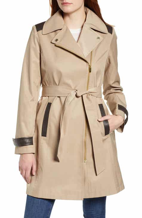 Via Spiga Water Repellent Trench Coat by VIA SPIGA