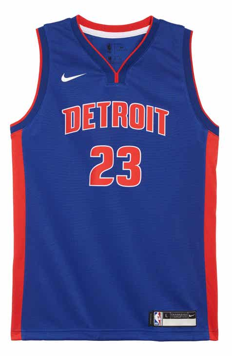 Nike Detroit Pistons Blake Griffin Basketball Jersey (Big Boys)