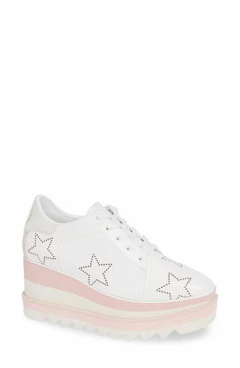 4607081224b Stella McCartney Elyse Platform Sneaker (Women) (Nordstrom Exclusive)