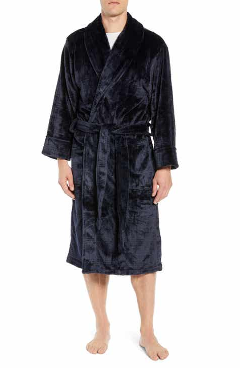 Daniel Buchler Plaid Plush Jacquard Robe 548041233