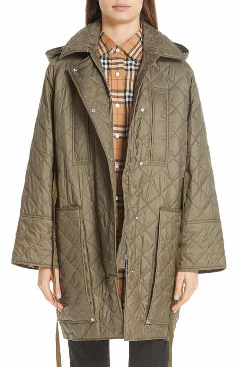 Burberry Coleraine Quilted Drawstring Jacket by BURBERRY