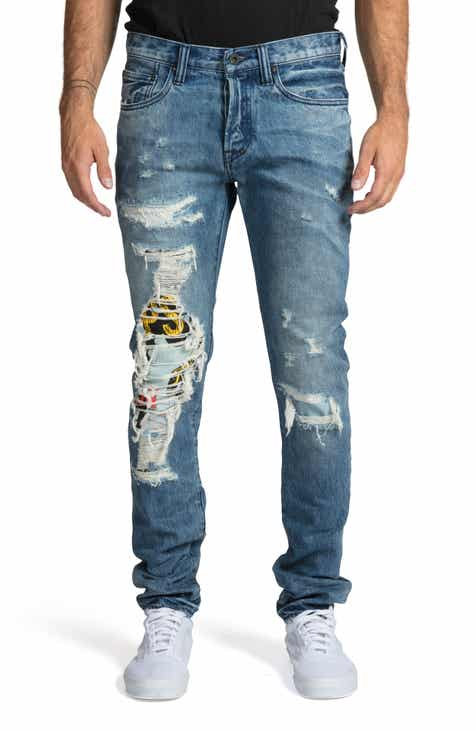 b7a38f9b2912 PRPS Le Sabre Slim Fit Jeans (Wind Chill)