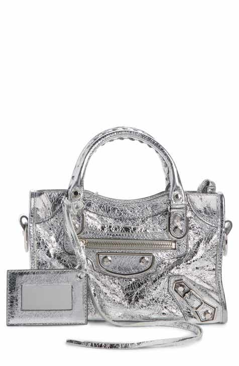 c626a07278 Balenciaga Mini Metallic Edge City Leather Tote