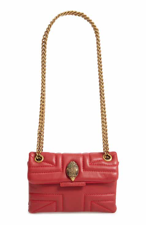 0a58246718ad Kurt Geiger London Mini Kensington Leather Shoulder Bag
