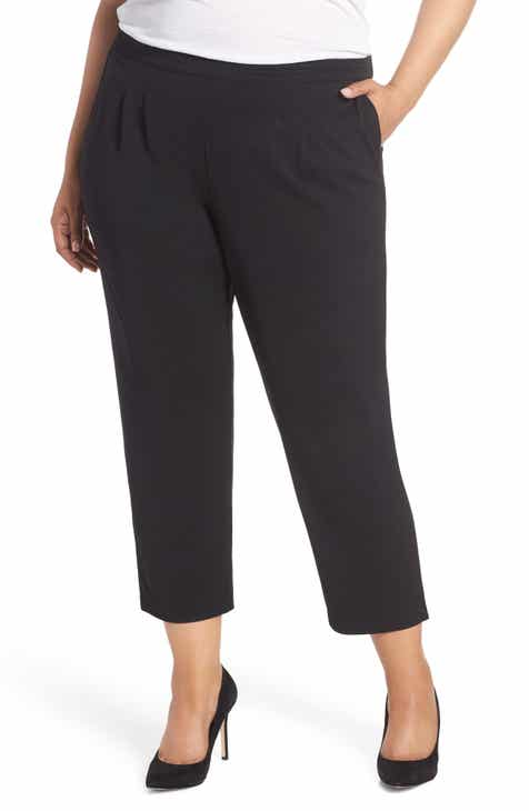 Lemon Tart Jesse High Rise Crop Pants (Plus Size) by LEMON TART