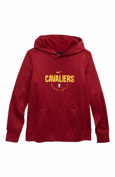 NBA Logo Cleveland Cavaliers Spotlight Dri-FIT Hoodie (Big Boys) fb6a1637d