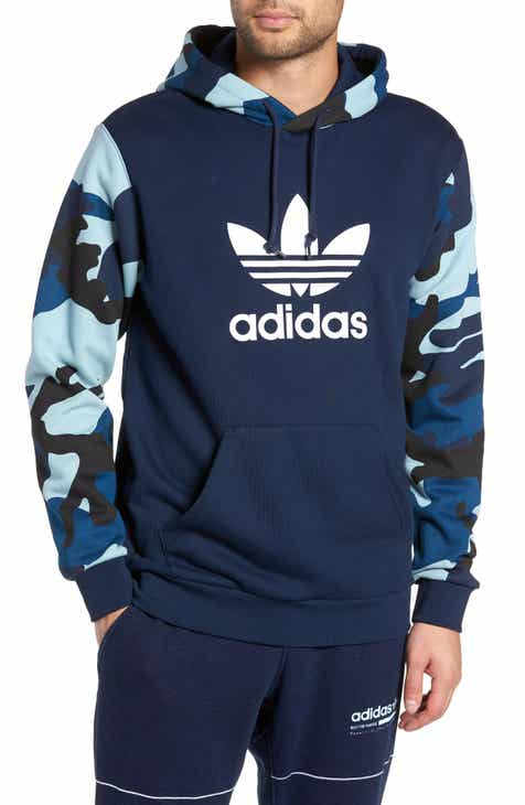 4ab2700ecd adidas Originals Camo Hooded Sweatshirt