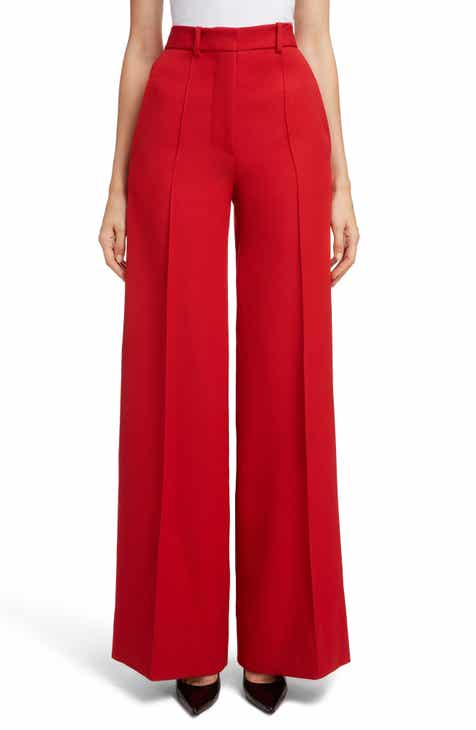 Victoria Beckham High Waist Wool Pants by VICTORIA BECKHAM