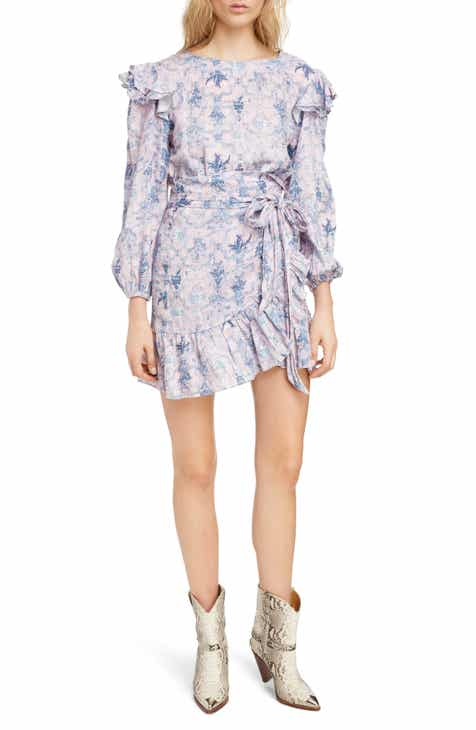 e8123802a5 Isabel Marant Étoile Telicia Print Ruffle Dress