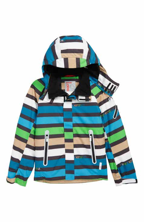 Reima Regor Reimatec® Waterproof & Windproof Hooded Jacket (Big Boys)