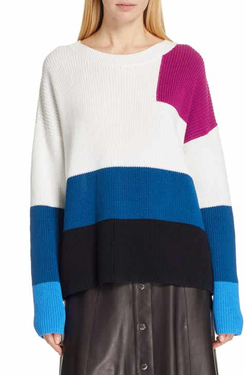 HUGO Sarabi Colorblock Sweater by HUGO HUGO BOSS