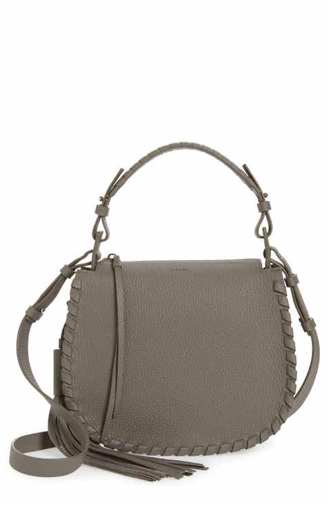 Allsaints Mori Leather Crossbody Bag