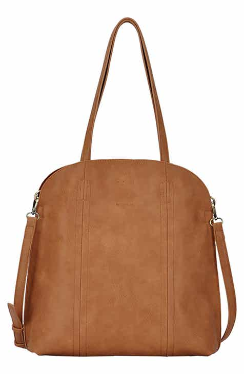 83a13a22b0 ANTIK KRAFT Faux Leather Shopper Tote with Pouch