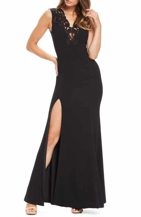 Dress the Population Cassandra Embroidered Evening Dress by DRESS THE POPULATION