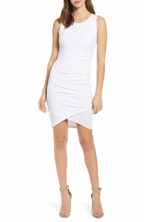 e8cff071ae9220 Leith Ruched Body-Con Tank Dress