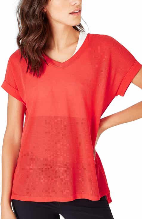 Sweaty Betty Ab Crunch Tee by SWEATY BETTY
