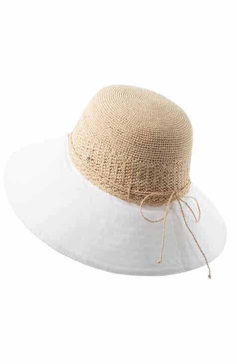 952b0e6e445 Helen Kaminski Raffia   Canvas Hat