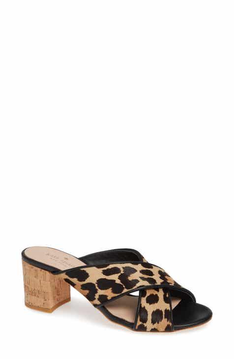 eeb20a5d33a3 kate spade new york genuine calf hair slide sandal (Women)