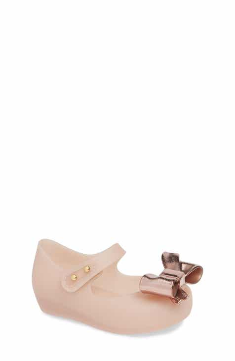 f8f45c69e71b Mini Melissa Ultragirl Bow Wedge Mary Jane (Walker   Toddler)