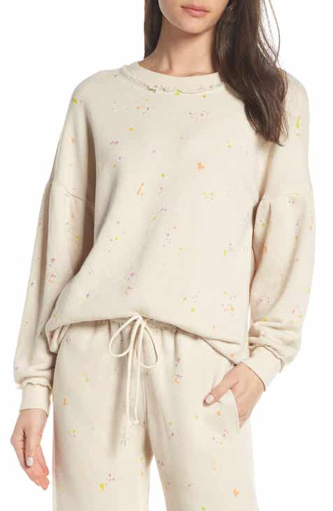 Free People Movement Make It Count Printed Sweatshirt by FREE PEOPLE MOVEMENT
