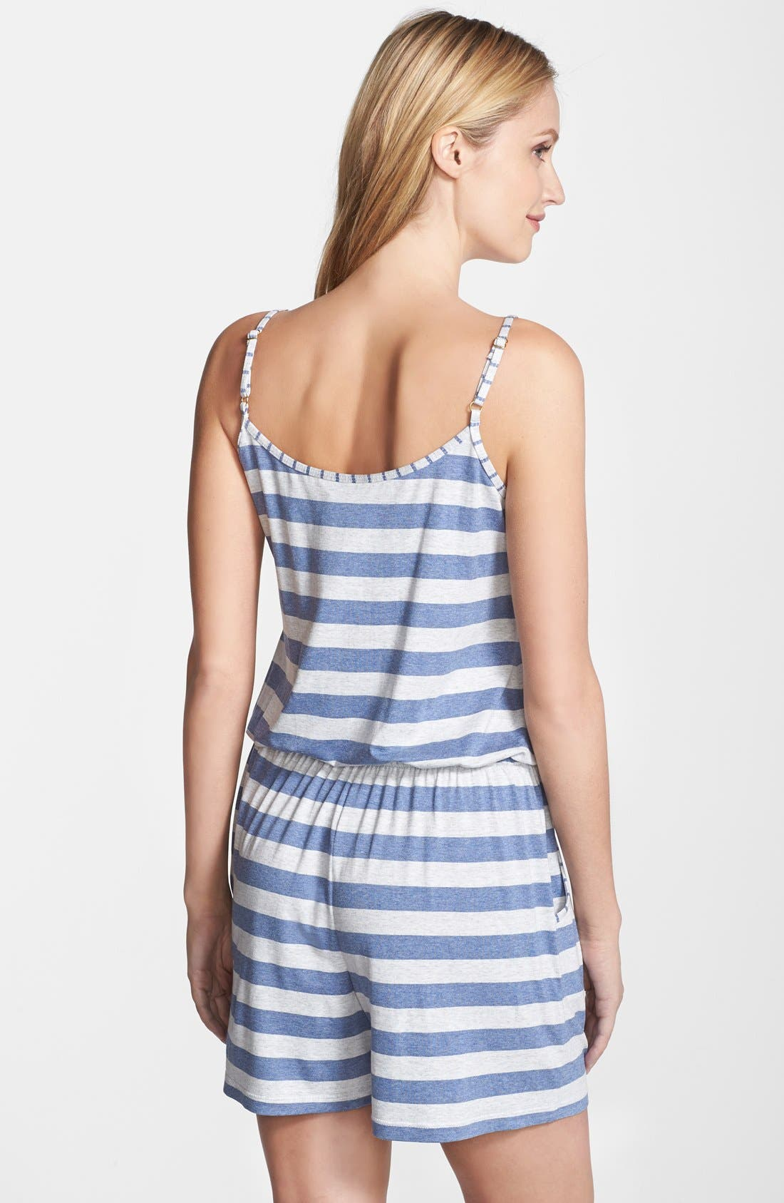 Alternate Image 2  - Tommy Bahama Stripe Jersey Romper