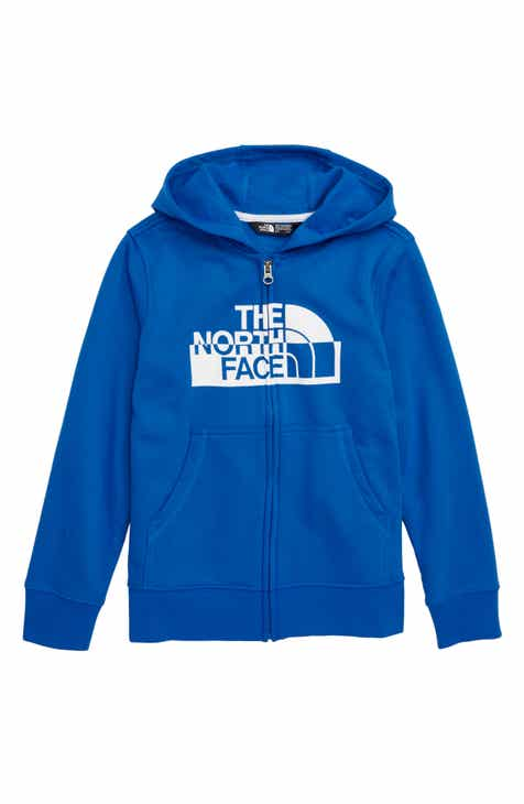 44d033f026f The North Face Logowear Full Zip Hoodie (Big Boys)
