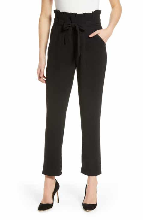 e40ed9ff5d2 cupcakes and cashmere Paperbag Waist Pants