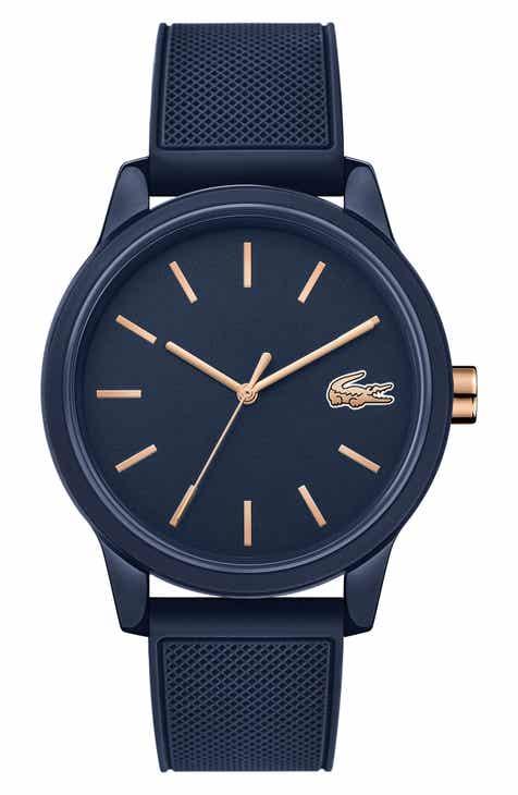 3b05958f2a4 Lacoste 12.12 Rubber Strap Watch