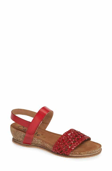 eb381f4cd Callisto Thor Woven Wedge Sandal (Women)