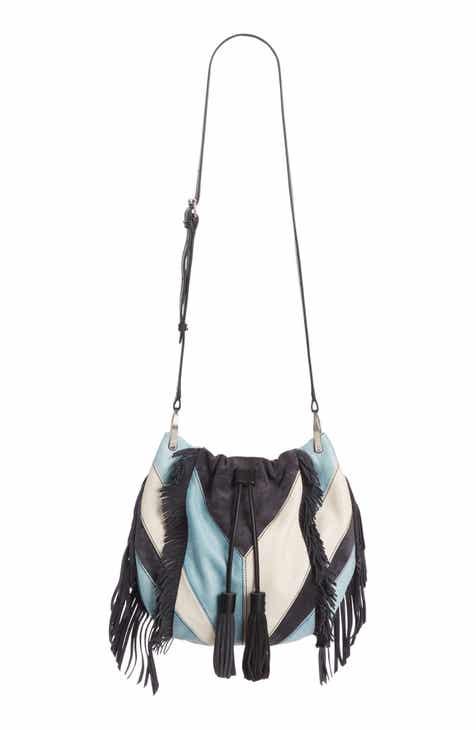 df156afedf0f Isabel Marant Jeeba Patchwork Leather Bucket Bag