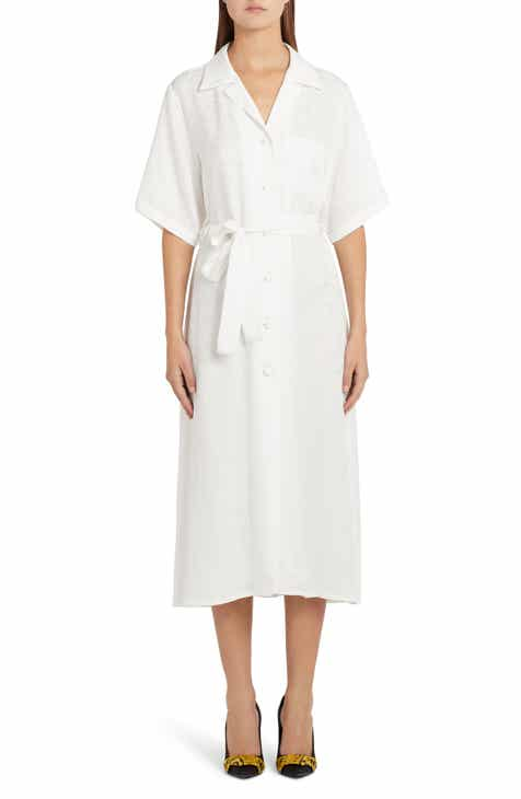 Off-White Logo Jacquard Shirtdress by OFF-WHITE