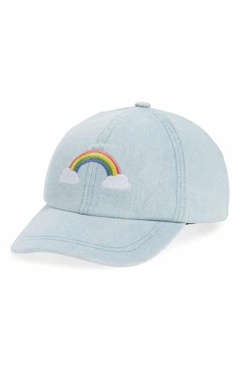 29b66c322cc Tucker + Tate Embroidered Rainbow Baseball Cap (Kids)