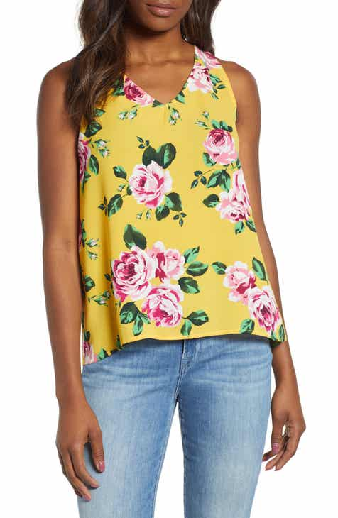 2d587c6af2c92 Gibson x Hi Sugarplum! Carmel High Low V-Neck Top (Regular   Petite)  (Nordstrom Exclusive)