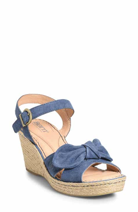 50a8e3d8c12 Børn Monticello Knotted Wedge Sandal (Women)