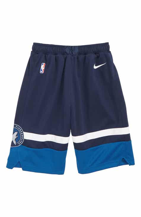 Nike Icon Minnesota Timberwolves Basketball Shorts (Big Boys)