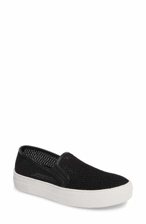 0107330e0c3 Steve Madden Gills-M Mesh Slip-On Sneaker (Women)