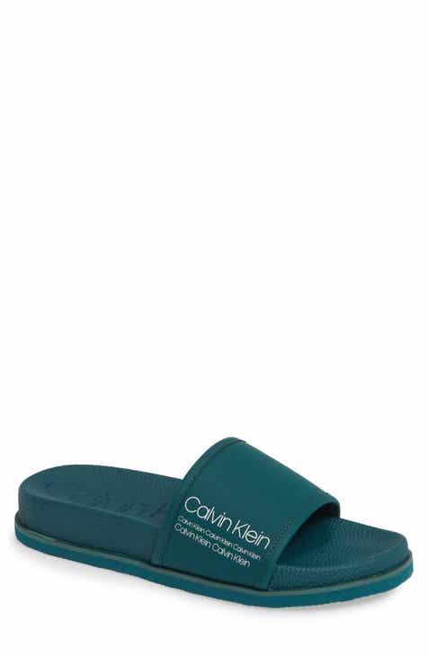 f2ac30525fa Calvin Klein Mackee Slide Sandal (Men)